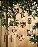 Deko-Hnger-Weihnachten-Lebkuchen-Deko-aus-Terracotta-10er-Set