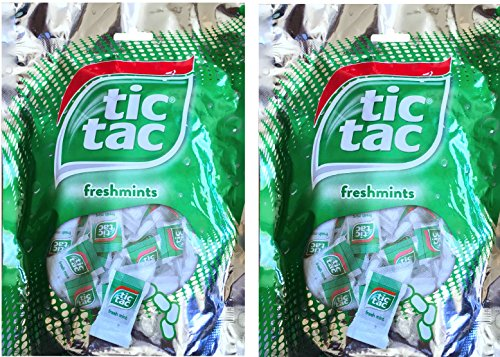 Tic Tac Freshmints Mini Packs Net Wt 3.3 Oz (2) (Tic Tac Mini Packages compare prices)