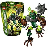 Lego Year 2013 Hero Factory Series 7 Inch Tall Figure Set #44007 Ogrum With Removable Light Green Evil Brain,...