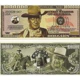 John Wayne Million Dollar Novelty Bill