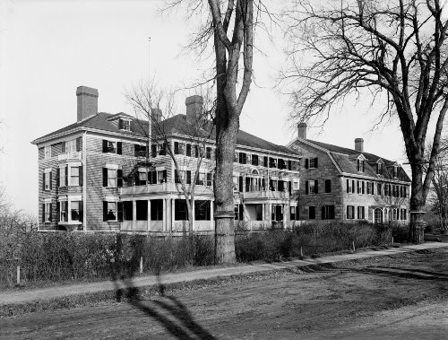 Phillip's Inn and old Harriet Beecher Stowe house, Andover, Massachusetts