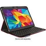 Logitech Type S Folio Keyboard Case For Samsung Galaxy Tab S 10.5 - Red (Color: Red, Tamaño: one size)