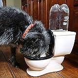The Toilet Ceramic Gravity Pet Water Dish