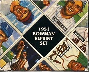 1951 bowman baseball reprint factory set 324 cards complete mantle