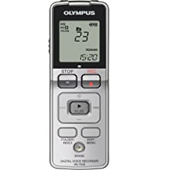 Olympus VN-7000 Digital Voice Recorder 142645 (Silver)