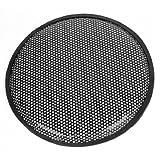 Metal Mesh Round Car Woofer Cover Speaker Subwoofer Grill Black 31cm