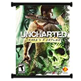 Uncharted Drake's Fortune Game Fabric Wall Scroll Poster (16