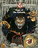 Rage of the Rakasta (Dungeons & Dragons, Adventure 9435) (156076614X) by Connors, William W.