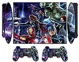 Avengers 260 Vinyl Skin Sticker Protector Cover for PS3 Super SLIM