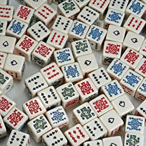 WE Games Poker Dice - 100 Pack