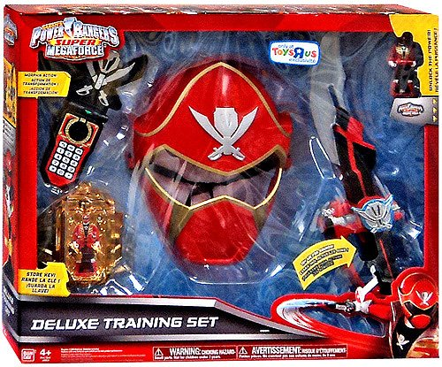 Power Rangers SUPER Megaforce Exclusive Deluxe Training Set [Red Ranger] - 1