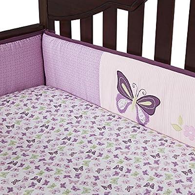 Lambs & Ivy Butterfly Lane Crib Bumper