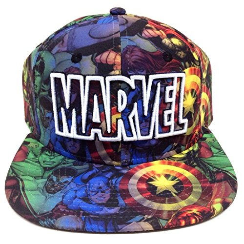 Marvel Comics The Avengers Sublimated Snapback