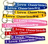 I Love Cheerleading Lanyard - Purple (Brand New)