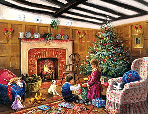 Christmas Morning Gifts 1000+ Piece Jigsaw Puzzle by Sunsout Inc.