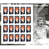 Lucille Ball: I Love Lucy Legends of Hollywood Stamps Full Sheet of 20 x 34 Cent Stamps Scott 3523