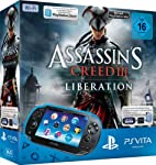 PlayStation Vita (WiFi) inkl. Assassins Creed III Liberation (Download Voucher) + 4GB Memory