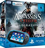 PlayStation Vita (WiFi) inkl. Assassins Creed III Liberation (Download Voucher) + 4GB Memory