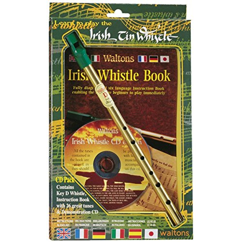 Learn to Play the Irish Tin Whistle , CD Pack (including key of D whistle, instruction book and demonstration CD) (Irish Whistle G compare prices)