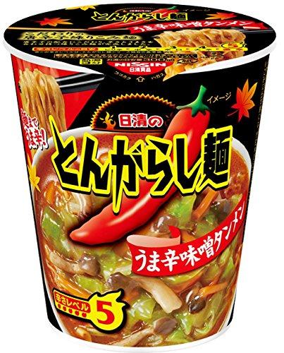日清 とんがらし麺 味噌タンメン 70g×20個