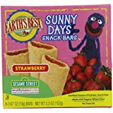 Earth's Best Organic Sunny Days Snack Bars, Strawberry, 8 Count (Pack of 6) ( 5.3 oz Packets )