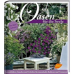 Oasen für die Seele: Saisonblüher, Stauden und Gehölze für traumhafte Balkone und Terrassen