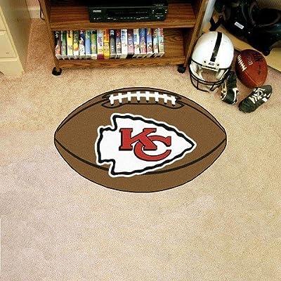 Kansas City Chiefs Fanmats Football Rug TRG