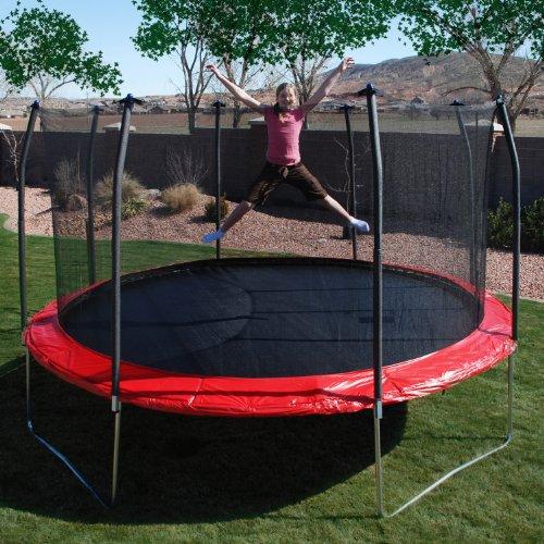 Skywalker trampolines 17x15 oval trampoline 085686001909 for Skywalker trampoline