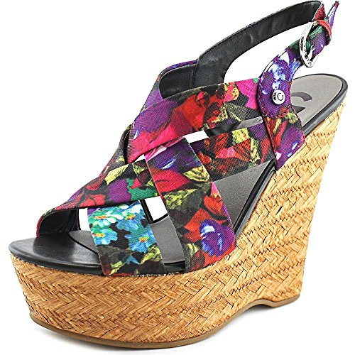 G By Guess Havana 2 Donna US 9.5 Multicolore Sandalo con la Zeppa