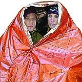 Survive-Outdoors-Longer-Heatsheets-Water-Windproof-2-Person-Survival