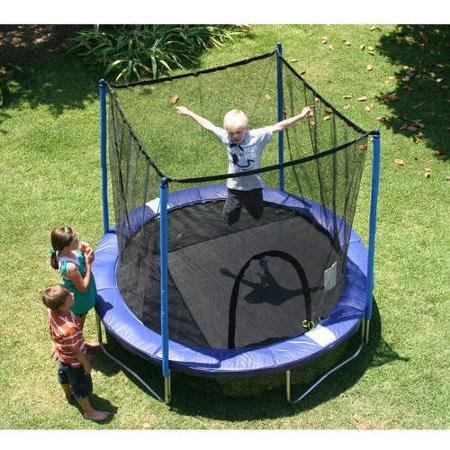 Airzone-8-Trampoline-Combo-Blue-Includes-Netting-Enclosure-And-More-by-Airzone
