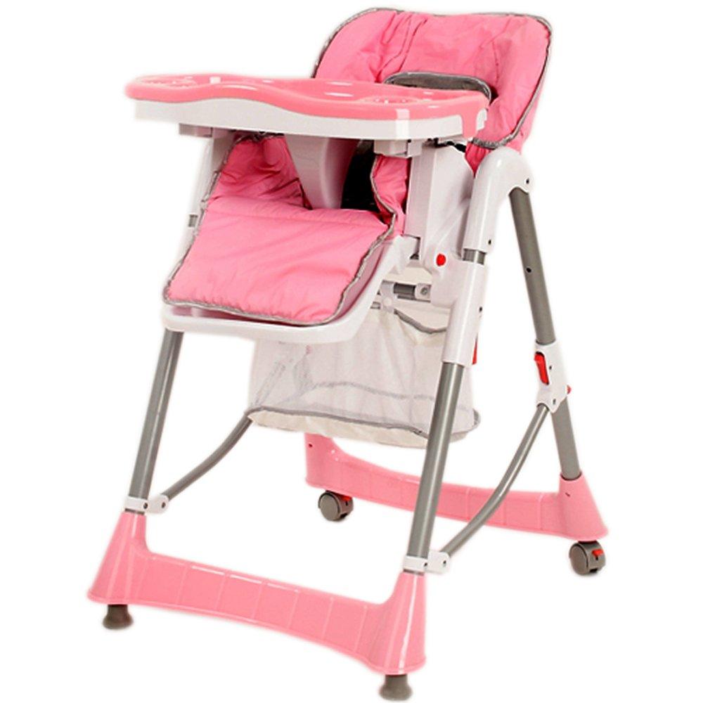 TecTake® Kinderhochstuhl hochstuhl höhenverstellbar pink   Rezension