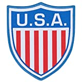 USA Embroidery Patch 90mm x 80mm One Size