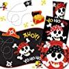 Pirate Fun Party Pack for 8