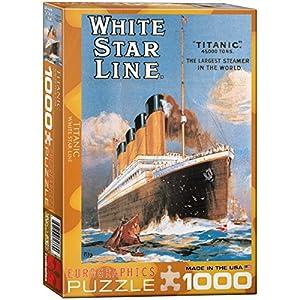 Eurographics Titanic White Star Line Puzzle (1000 Pieces)