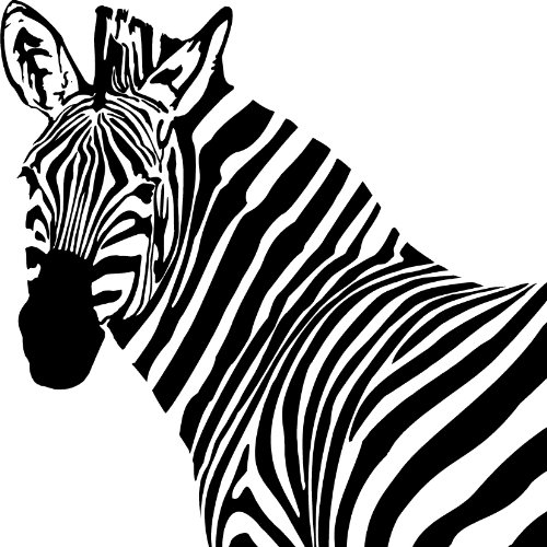 zebra head cartoon colouring pagesZebra Head Coloring Pages