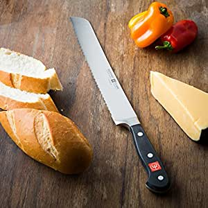 Wusthof Wusthof 4152 Classic 9-inch Double Serrated Bread Knife, High Carbon Steel