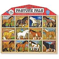 12-Pc.Melissa & Doug Children's Pasture Pals Collectible Horses