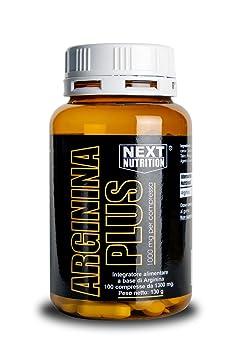 4 pack Arginin (100 Tabletten - 130 gr fur insgesamt 400 Tabletten - 520 gr 1 g Arginin pro Tablette) L-Arginin Aminosäure Anti Aging Potenz Muskelaufbau Masseaufbau Die essentielle Aminosäure L-Arginin ist die Vorstufe des NO (Stickstoffmonoxid