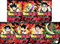 Dragon Ball Dragonball Z Vegeta Saga 1 Complete Collection DVD Bundle 7 Pack (Dragon Ball Z Vegeta Saga 1 Vol 1 Saiyan Showdown, Vol 2 Piccolo's Plan, Vol 3 Into Wild, Vol 4 Gohans Trials, Vol 5 Goku Held Hostage, Vol 6 Doomed Heroes, Vol 7 Back from Death)