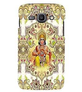 PrintVisa Religious & Spiritual Hanuman 3D Hard Polycarbonate Designer Back Case Cover for Samsung Galaxy Core i8262