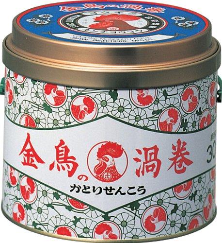 金鳥の渦巻 K 30巻入(缶)
