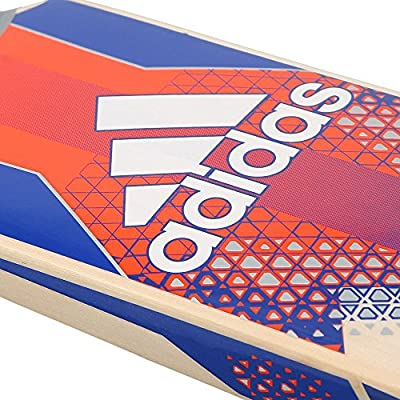 adidas AY2593 Pellara Elite Cricket Bat, Men's Short Handle (Red)