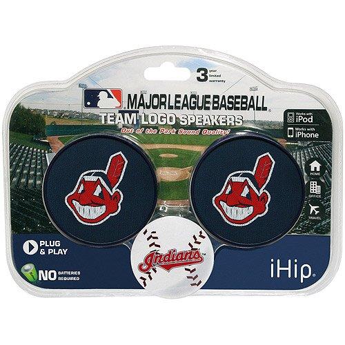 Ihip Mlb 2-Speaker Set, Cleveland Indians