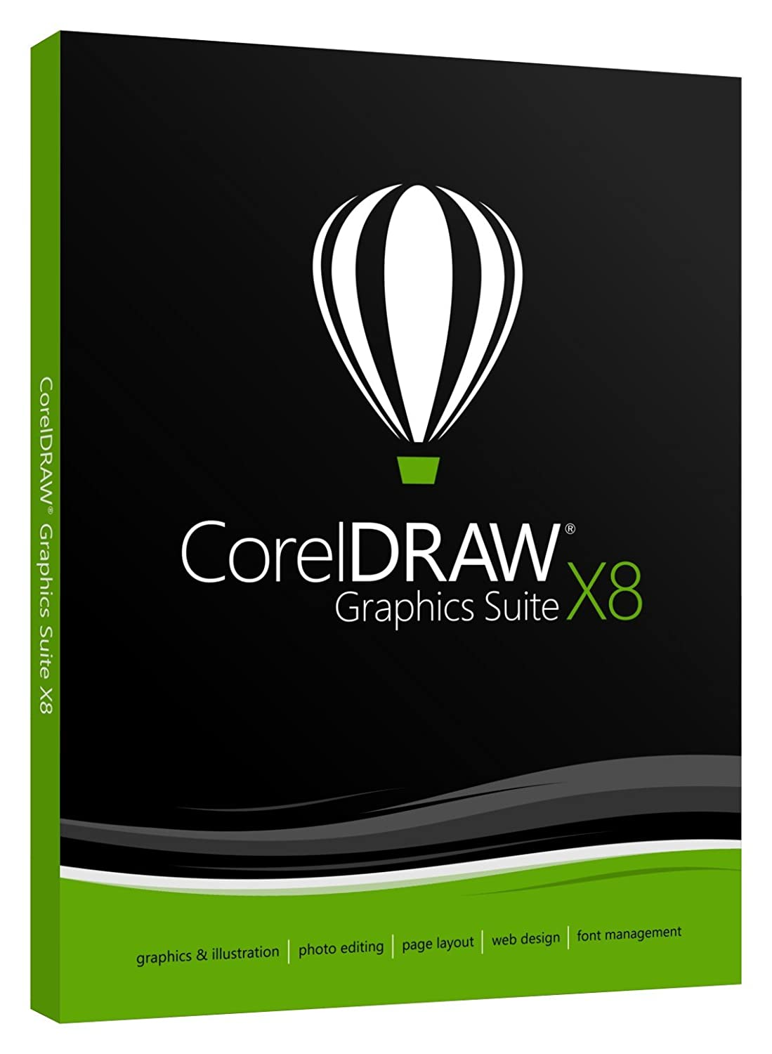 CorelDRAW Graphics Suite X8 Academic