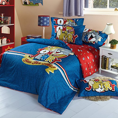 Home Feeling Children Cotton Series Sheets & Pillowcases & Quilt Cover 21