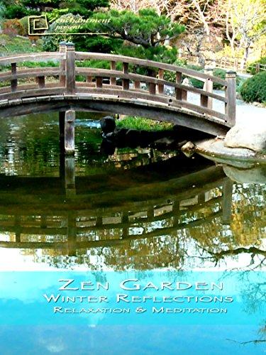 Zen Garden Winter Reflections