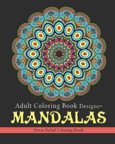 Mandalas: Stress Relief Coloring Book