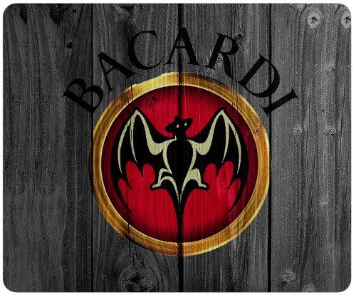 bacardi-logo-wood-background-style-mousepad-square-mousepad-customized-by-the-micase
