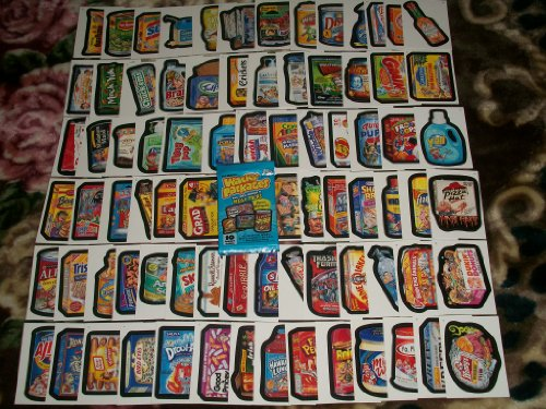Wacky Packages Series6 Complete SET 80/80 Stickers w/ Wrapper!! (Wacky Packages Set compare prices)